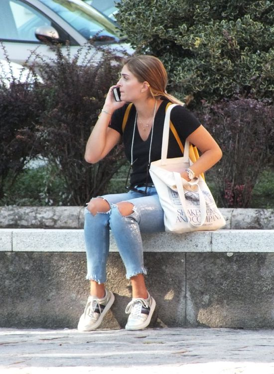 Italian girls look and day outdoor outfits